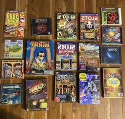16 Computer Games- Assorted Disks for Computers: Slots, Tron
