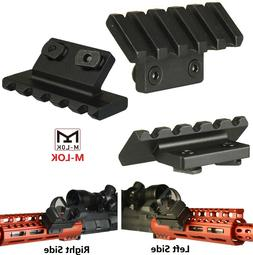 5 Slots M-LOK 45 Degree Offset Accessories Mount