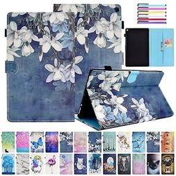 For Amazon Kindle Fire HD 10 2017/2015 Smart Leather Card Sl