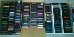 ATARI 2600 GAMES, 1.50 SHIPPING FOR EACH ADDITIONAL GAME! RE