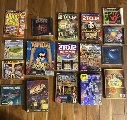 16 computer games assorted disks for computers