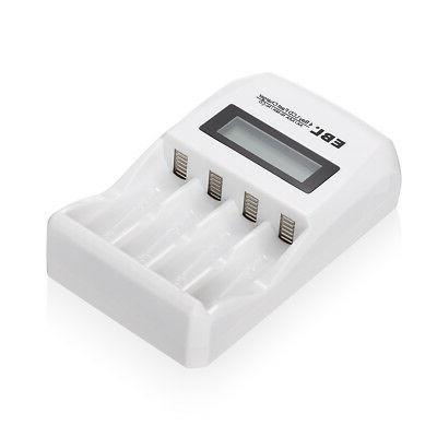 EBL 4-Slots Fast Charger NIMH Battery US