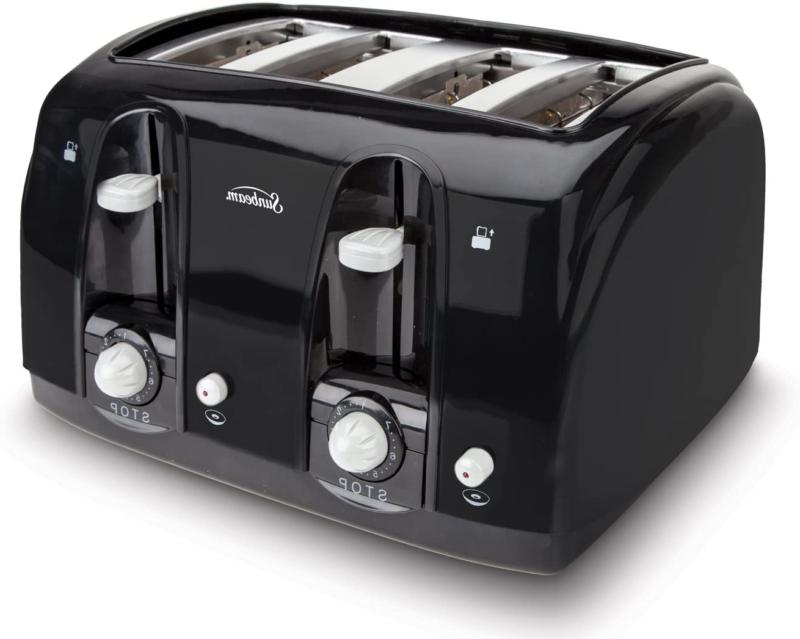 4Slice Electric Four Wide Burger Toaster~
