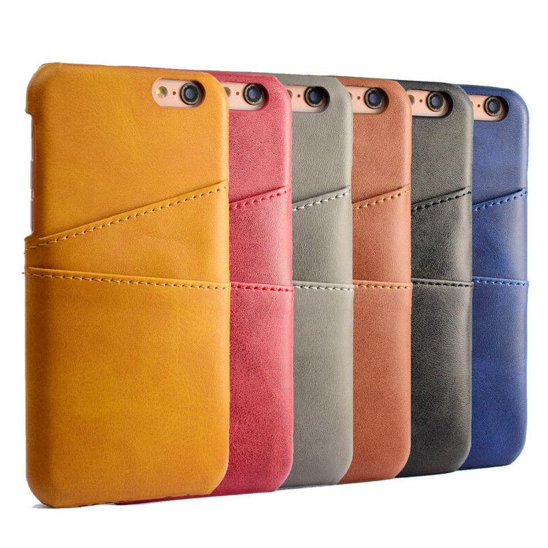 For iPhone Pro Max XS Leather Back