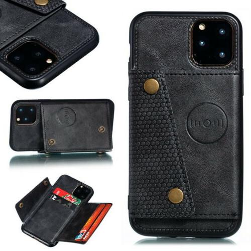 For Pro Max XR Back Card Leather Case