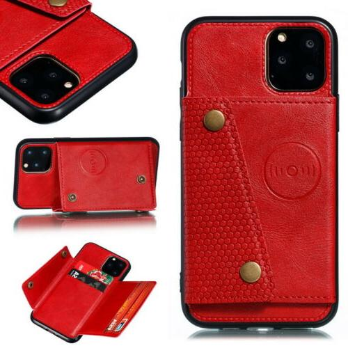 Pro Max XR 8 Back Card Leather Cover