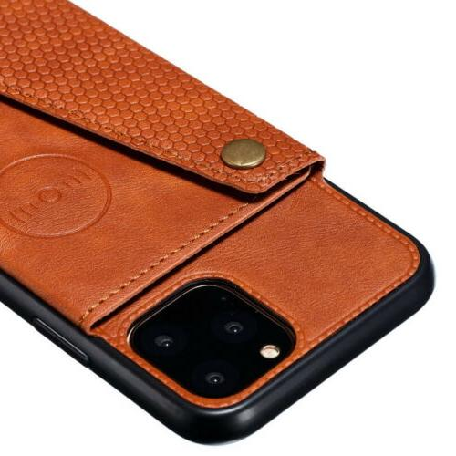 For 11 Pro XR 7 Back Leather Cover
