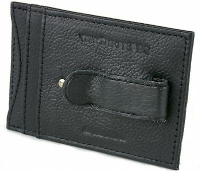 Mens Leather Money Wallet 4 Slots ID