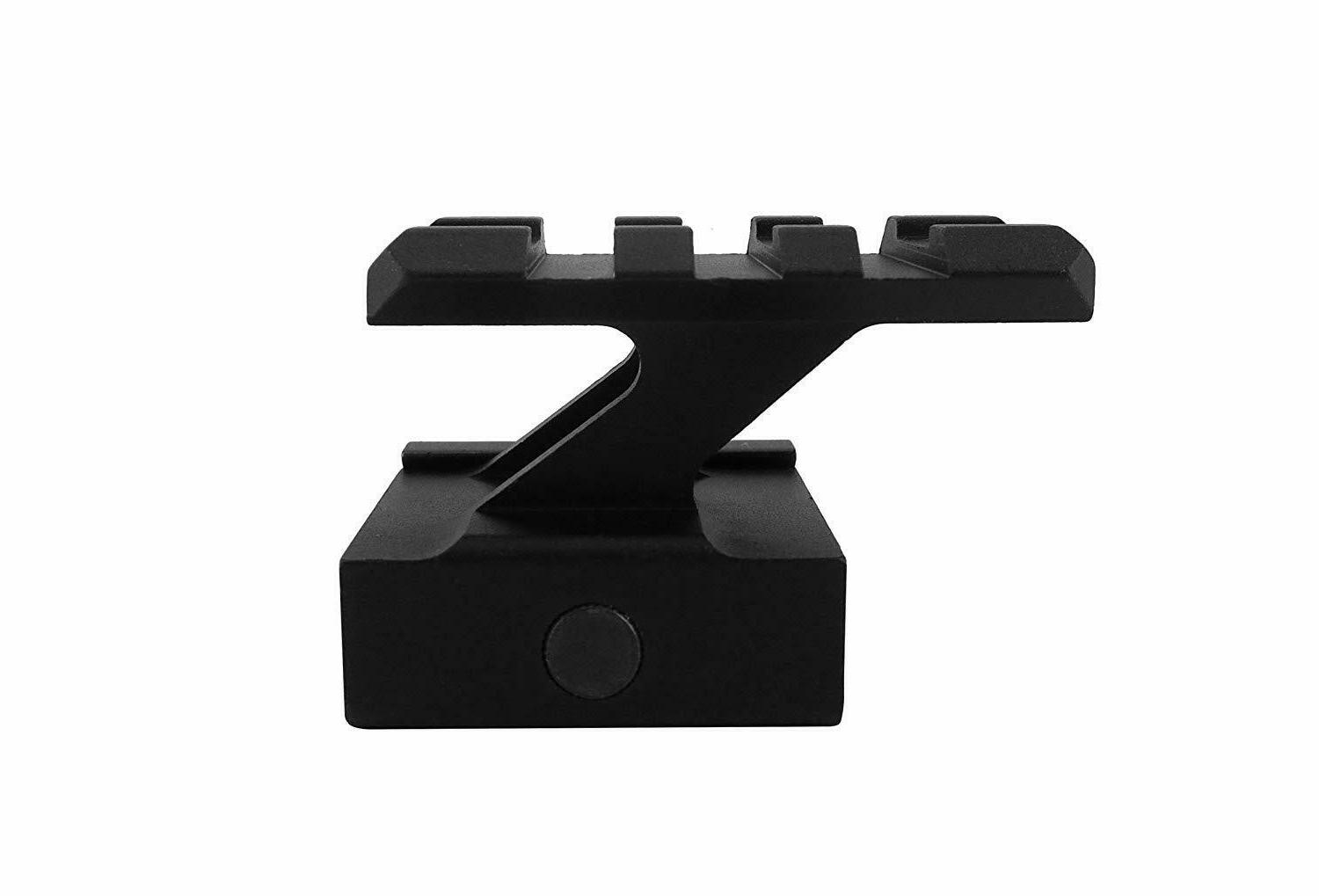 Pack inch Riser Compact Mount Slots Red