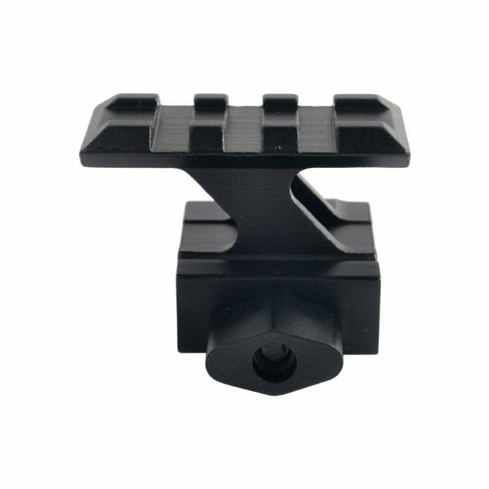 Pack 2! inch Compact Mount Slots Red