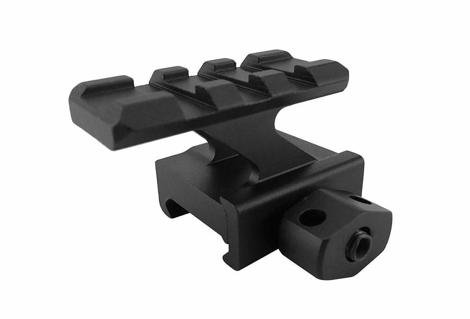 Pack of 1 inch Riser High Compact Picatinny Mount Slots