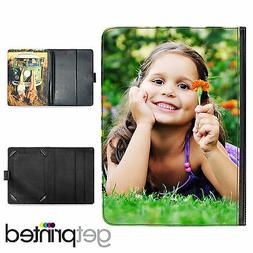 """Personalised Kindle Fire HD 8.9"""" / HDX 8.9"""" Leather Flip Cas"""